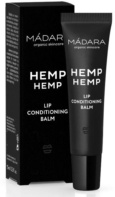 Balsam do ust - Madara Cosmetics Hemp Hemp Lip Balm — фото N1