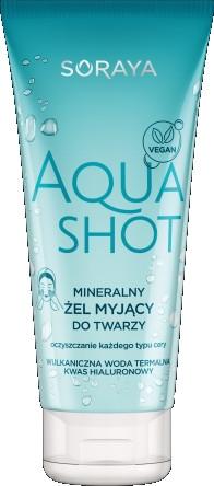 Żel do mycia twarzy - Soraya Aquashot