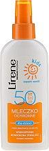 Kup Ochronne mleczko do opalania w sprayu dla dzieci SPF 50 - Lirene Kids Sun Protection Milk Spray SPF 50