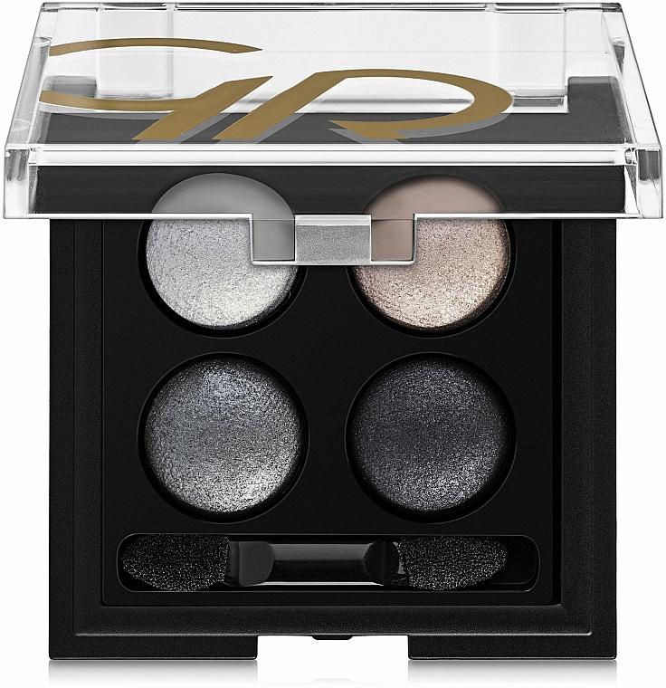 Paletka cieni do powiek do aplikacji na mokro i sucho - Golden Rose Wet & Dry Eyeshadow — фото N1