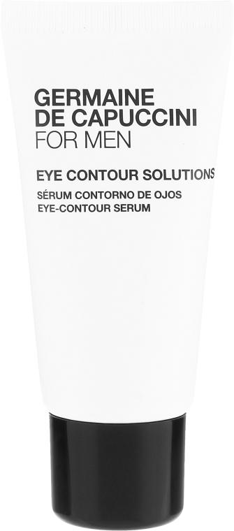 Zestaw dla skóry matowej i znaieczyszczonej - Germaine de Capuccini For Men (f/concentrate/50ml + eye/ser/15ml) — фото N3