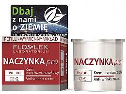 Kup Krem przeciwzmarszczkowy do twarzy Naczynka Pro - Floslek Dilated Capillaries Line Anti-Wrinkle Cream Refill (wymienny wkład)