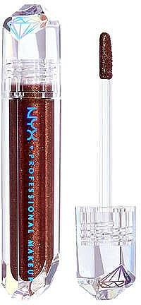 Błyszczyk do ust - NYX Professional Makeup Diamonds & Ice Please Lip Topper
