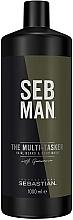 Kup Wielofunkcyjn żel 3 w 1 do włosów, brody i ciała - Sebastian Professional Seb Man The Multi-Tasker