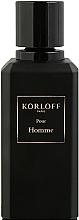 Kup Korloff Paris Pour Homme - Woda perfumowana (tester z nakrętką)