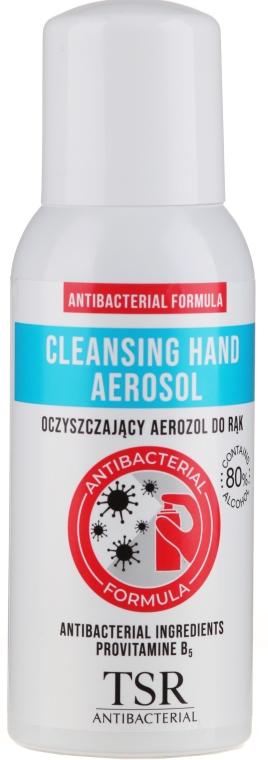 Antybakteryjny spray do rąk - TSR Antibacterial Cleansing Hand Aerosol — фото N1