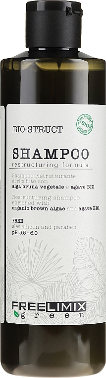 Szampon do włosów słabych i zniszczonych - Freelimix Biostruct Shampoo — фото N1