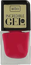 Kup PRZECENA! Długotrwały lakier do paznokci - Wibo Incredible Gel *