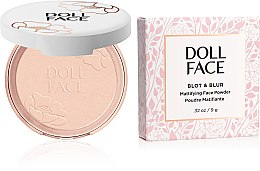 Kup Puder matujący do twarzy - Doll Face Blot & Blur Mattifying Powder