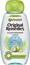 Kup Szampon do włosów Woda kokosowa i aloes - Garnier Original Remedies Coconut Water and Aloe Vera Shampoo