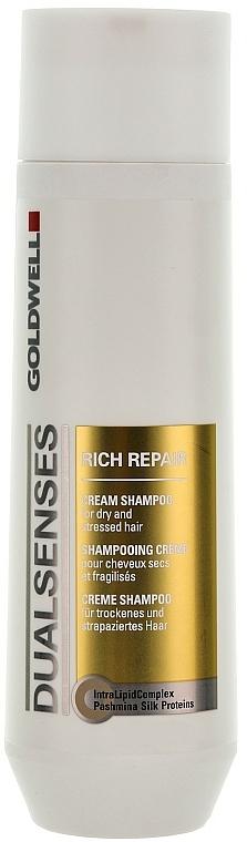 Odbudowujący szampon do włosów - Goldwell Dualsenses Rich Repair Cream Shampoo