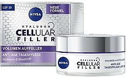 Kup Krem do twarzy na dzień z kawiorem - Nivea Hyaluron Cellular Filler + Volume Refill Anti-Age Day Care LF15