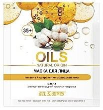 Kup Maska do twarzy Odżywianie i zachowanie młodości skóry 35+ - BelKosmex OILS Natural Origin
