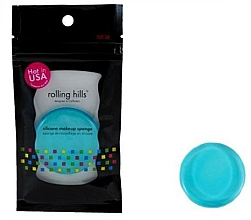 Kup Silikonowa gąbka do makijażu, niebieska - Rolling Hills Silicone Makeup Sponge Blue