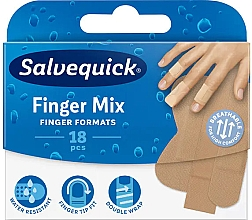 Kup Plastry do palców rąk i nóg, 18 szt. - Salvequick Finger Mix