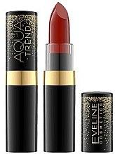Kup Ultranawilżająca szminka do ust - Eveline Cosmetics Aqua Trend Red Collection