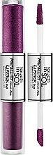 Kup Podwójna pomadka w płynie do ust - Touch In Sol Metallist Liquid Foil Lipstick Duo