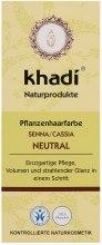 Kup Organiczna maska-odżywka do włosów z henną - Khadi Neutral Hair Conditioner