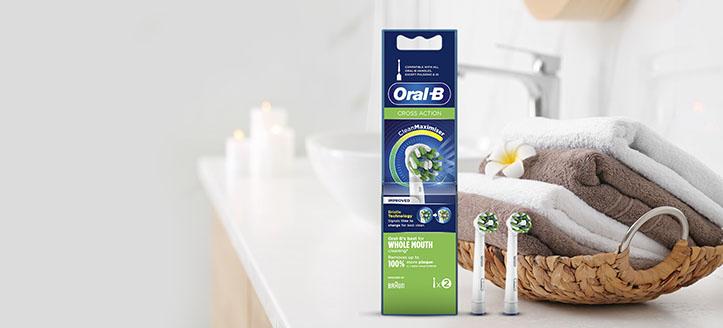 -10% na promocyjne wymienne końcówki Oral-B. Сeny uwzględniają zniżkę.