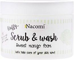 Kup Pianka peelingująco-myjąca Słodka pianka mango - Nacomi Scrub & Wash Sweet Mango Foam
