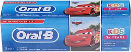 Kup PRZECENA! Pasta do zębów dla dzieci od 3 lat Auta - Oral-B Kids Cars Fluoride *