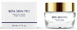 Kup Intensywny krem przeciwstarzeniowy do twarzy na noc - Beta-Skin Pro Intense Anti Aging Night Cream