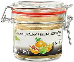 Kup Naturalny peeling konopny do ciała Cytrusowy - India Natural Peeling