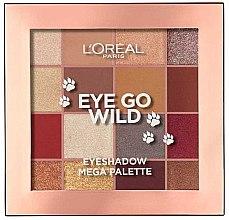 Kup Paleta cieni do powiek - L'Oreal Paris Eye Go Wild Eyeshadow Mega Palette