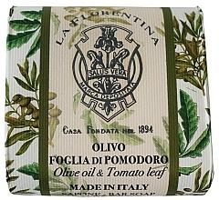 Kup Naturalne mydło do rąk w kostce Oliwa z oliwek i liście pomidora - La Florentina Olive Oil & Tomato Leaf Natural Soap