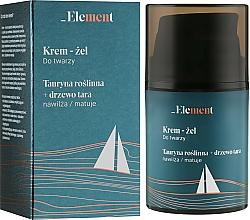 Kup Nawilżający krem-żel do twarzy z tauryną roślinną - _Element Men Cream For Face