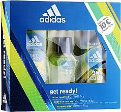 Kup Adidas Get Ready for Him - Zestaw (edt 50 ml + deo 150 ml + sh/gel 250 ml)