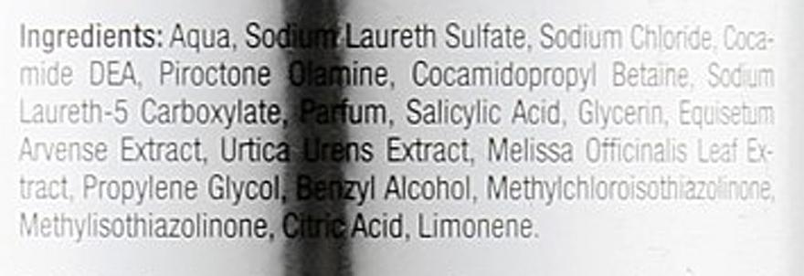 Szampon przeciwłupieżowy do włosów przetłuszczających się - Kallos Cosmetics MED Detox — фото N3