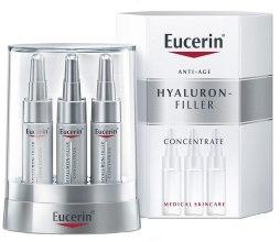 Kup Kuracja w ampułkach redukująca głębokość zmarszczek - Eucerin Hyaluron-Filler Concentrate
