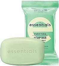 Kup Oczyszczające mydło z witaminą E i zieloną herbatą - Oriflame Essentials Soap Purifying Bar Vitamin E & Green Tea