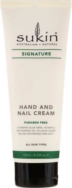Krem do rąk i paznokci - Sukin Hand & Nail Cream — фото N1