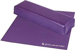 Kup PRZECENA! Podłokietnik mini z podkładką, fioletowy - Staleks Pro Expert 10 Type 3 *