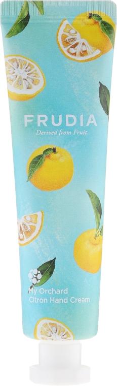 Odżywczy krem do rąk o zapachu cedratu - Frudia My Orchard Citron Hand Cream — фото N1