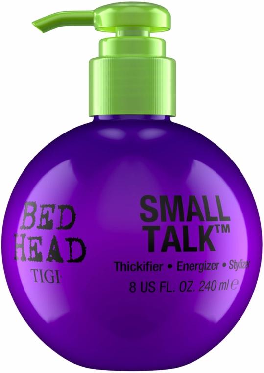 Odżywczy krem do stylizacji i zwiększenia objętości włosów - Tigi Bed Head Small Talk 3-in-1 Thickifier