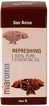 Kup Odświeżający olejek z anyżu gwiazdkowego - Holland & Barrett Miaroma Star Anise Pure Essential Oil