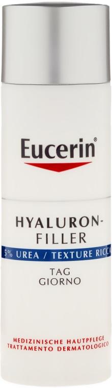 Hialuronowy krem wypełniający zmarszczki z 5% mocznikiem - Eucerin Hyaluron-Filler — фото N2