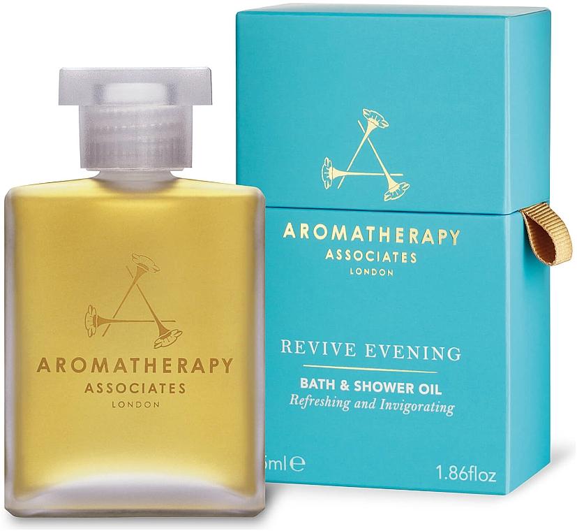 Olejek do kąpieli i pod prysznic na wieczór - Aromatherapy Associates Revive Evening Bath & Shower Oil — фото N1