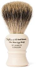 Kup Pędzel do golenia, P2233, beżowy - Taylor of Old Bond Street Shaving Brush Pure Badger size S