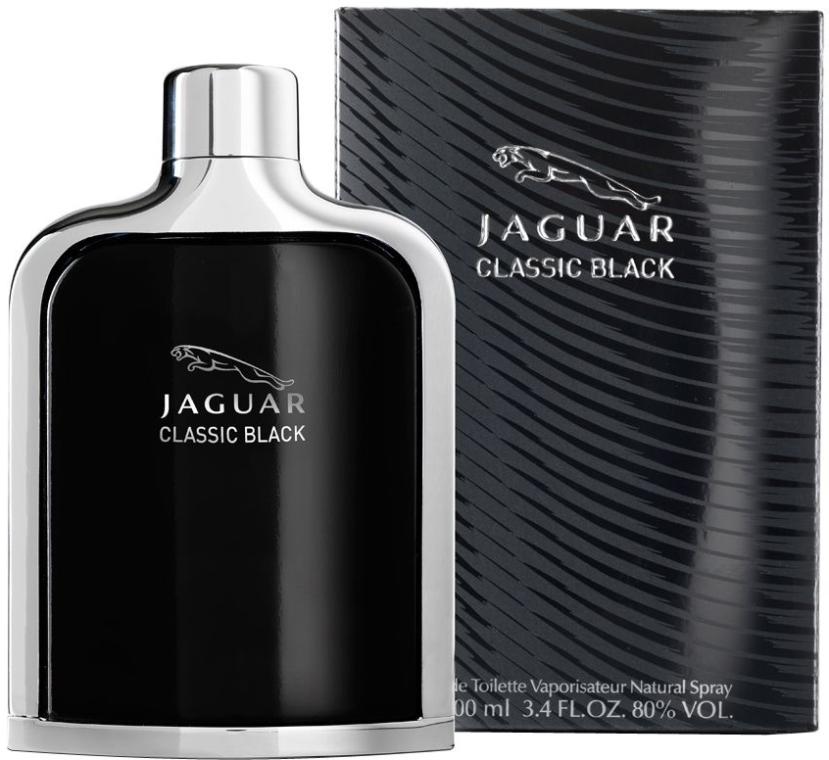 Jaguar Classic Black - Woda toaletowa (tester bez nakrętki) — фото N2