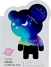Kup Nawilżająca maska do twarzy w płachcie - The Oozoo Bear Aurora Illuminating Mask