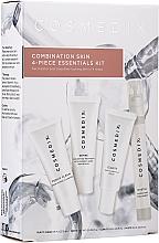 Kup Zestaw - Cosmedix Combination Skin 4-Piece Essentials Kit (f/cleanser 15 ml + f/ser 15 ml + f/ser 15 ml + f/mist 15 ml)