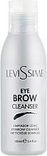 Kup Preparat do odtłuszczania brwi i rzęs przed zabiegami - LeviSsime Eye Brow Cleanser