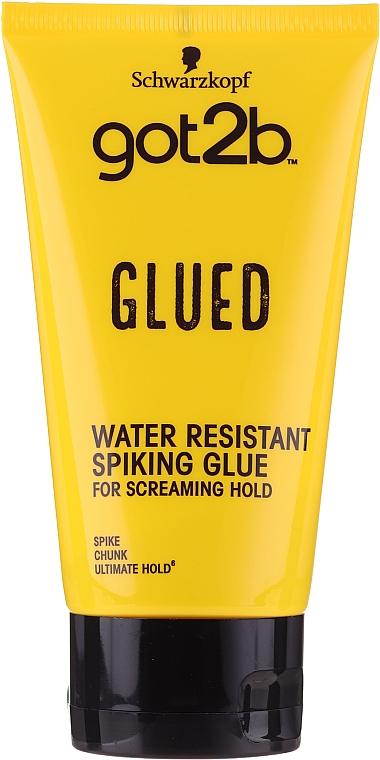 Klej do stylizacji włosów - Schwarzkopf Got2b Glued Spiking Glue