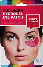 Kup Maska kolagenowa pod oczy z czerwonym winem - Beauty Face Collagen Hydrogel Eye Mask