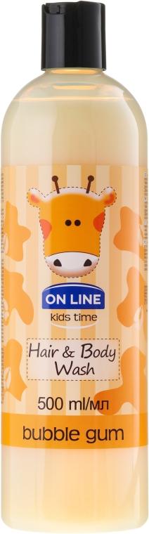 Szampon i żel do mycia dla dzieci Guma balonowa - On Line Kids Time