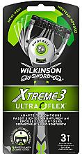 Kup Zestaw jednorazowych maszynek do golenia - Wilkinson Sword Xtreme 3 UltraFlex